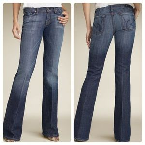 CITIZENS OF HUMANITY Ingrid LowRise Flare Jeans 28
